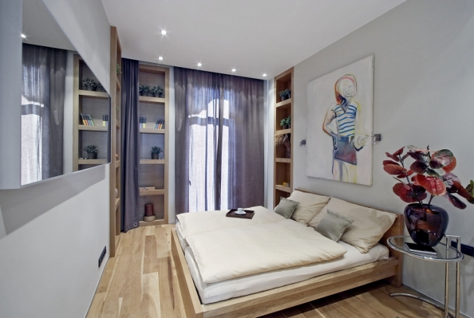 Všechny možné prostory proměnila architektka v úložné