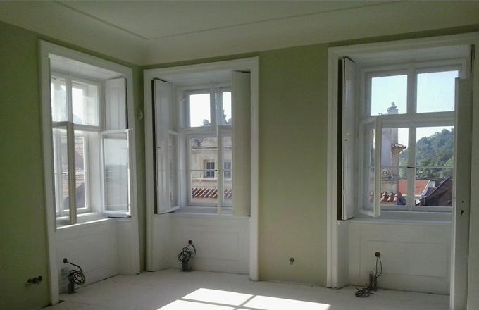 Příčky a podlahy fermacell změnily byt v Praze
