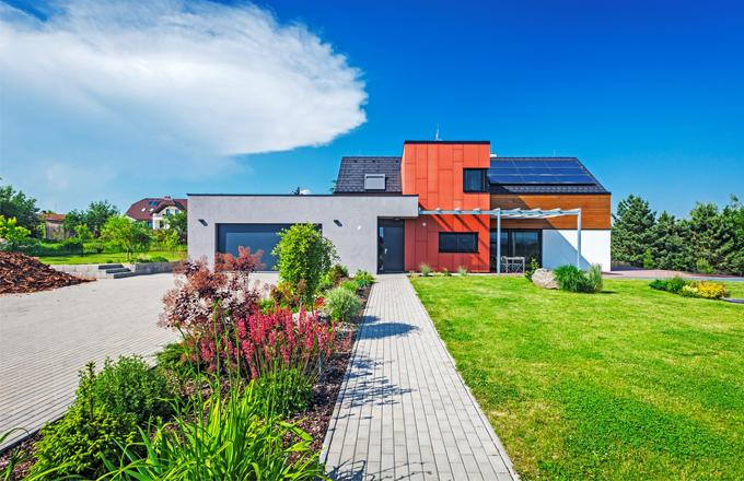 Atypická stavba na moravském venkově dobře zapadá do krajiny