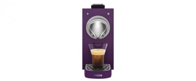 Kompaktní kapslový kávovar Cremesso Una Velvet Purple
