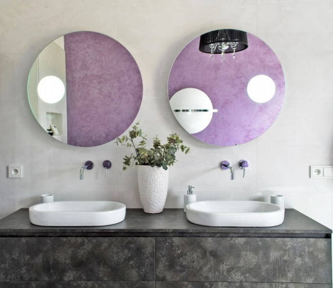 Koupelnový nábytek ze série Cubik,umyvadla Sfera