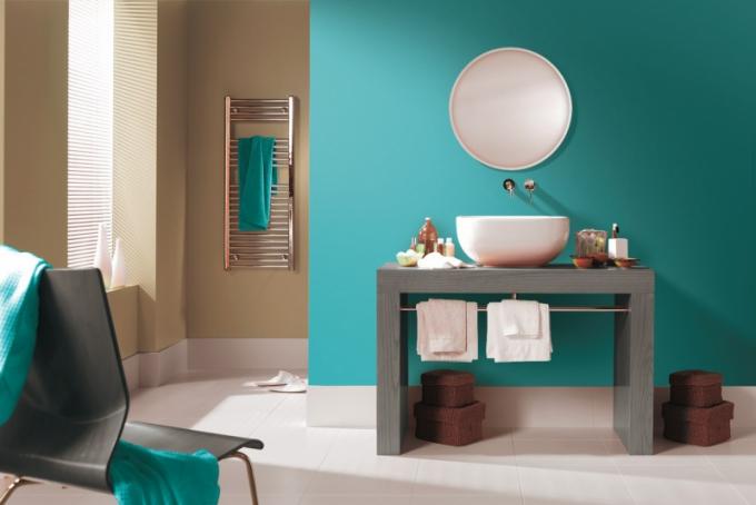Akrylátová emulzní omyvatelná natónovaná barva Kitchen and Bathroom