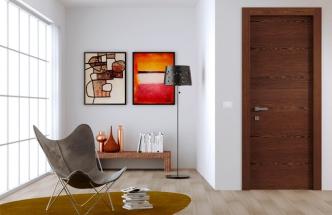 Dveře z dekorativní dýhy Alpilignum