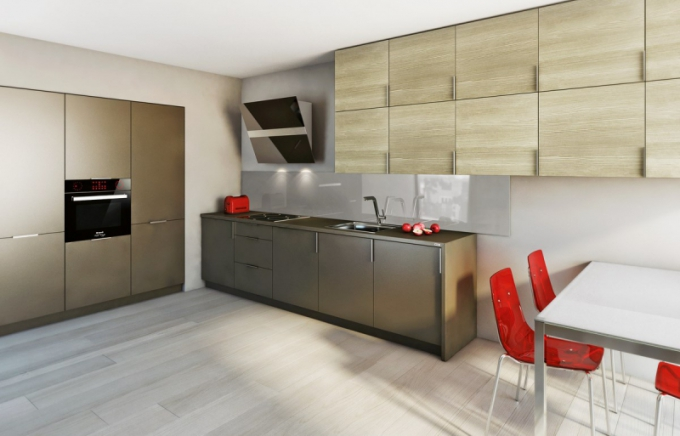 Kuchyňská linka Dolti, kombinace modelů Piqtory Majestiq