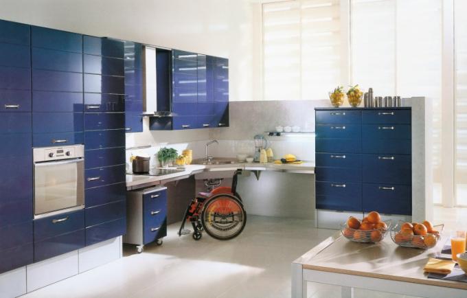Speciálně upravené kuchyňské sestavy podle individuálních požadavků