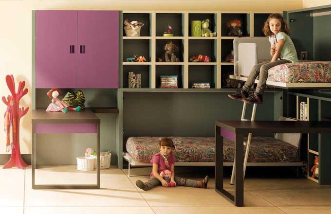 Kolekce dětského nábytku k rozvoji dětské duše