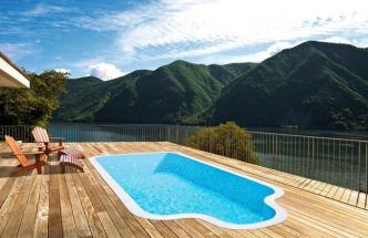 Přelivový bazén Albistone