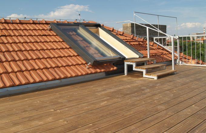 Posuvné střešní dveře Solara PERSPEKTIV - míry a provedení volí zákazník dle dispozic stavby