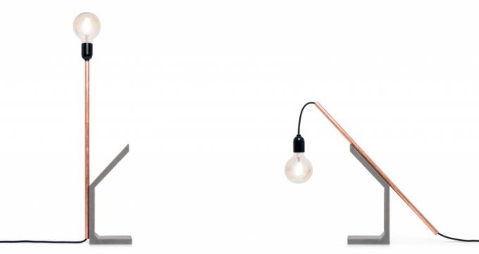 Stolní lampa Mango Tube