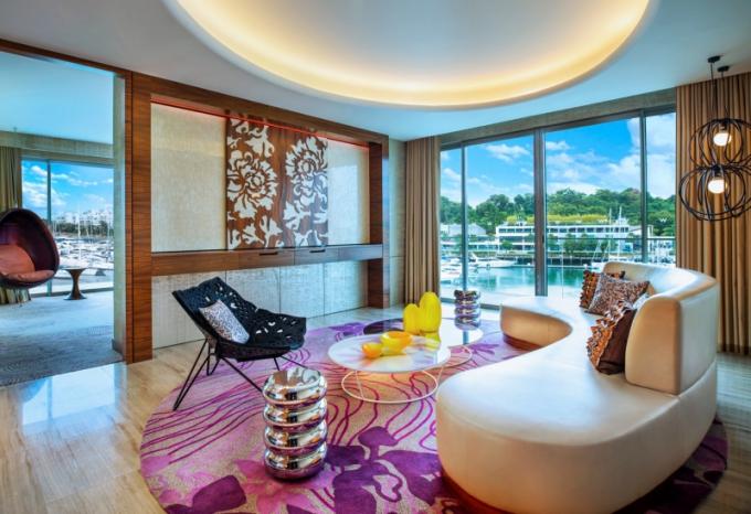 Luxus v zařízení i výhledu - to je Marvelous Suite