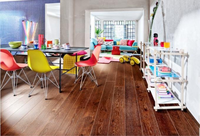 Dřevěná podlaha z kolekce Classic Nouveau