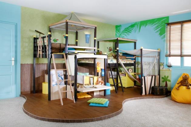 Sestava dětského nábytku Jungle