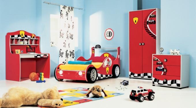 Sestava dětského nábytku Racer