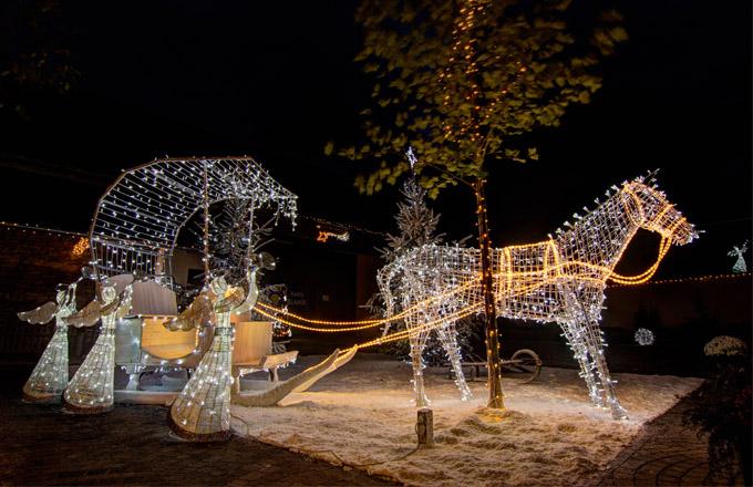 Vánoční soutěž: vyhrajte svítícího anděla!