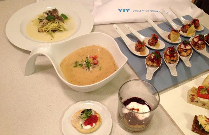 Ochutnávka kuchyně i bydlení ve finském stylu