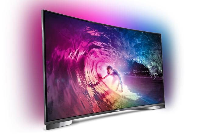 Televize není jen plochá, ale už i prohnutá!