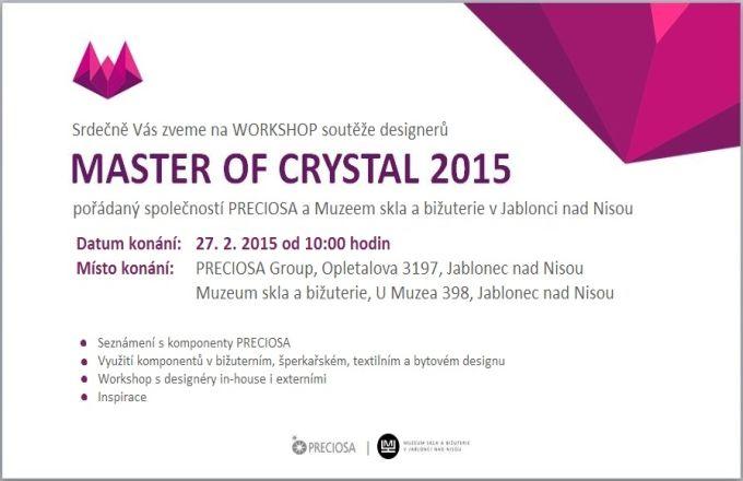 8. ročník soutěže MASTER OF CRYSTAL 2015