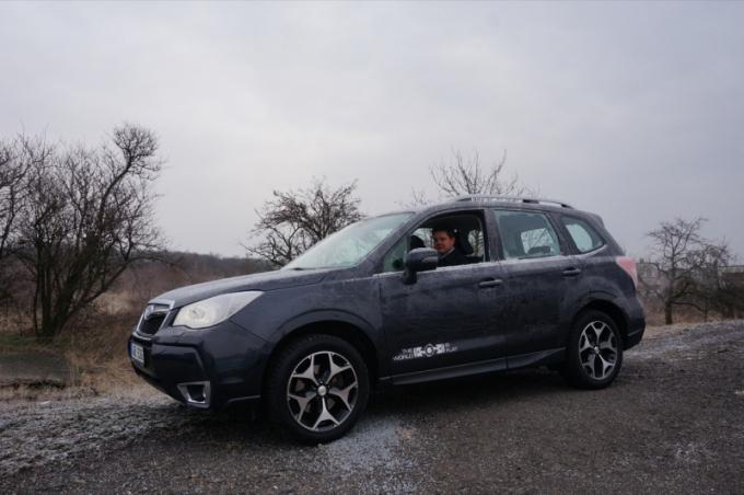 Manažer Jáchym Rataj testuje Subaru Forester XT