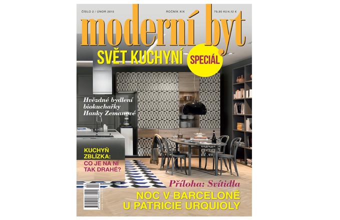 Právě vyšlo únorové číslo časopisu Moderní byt!