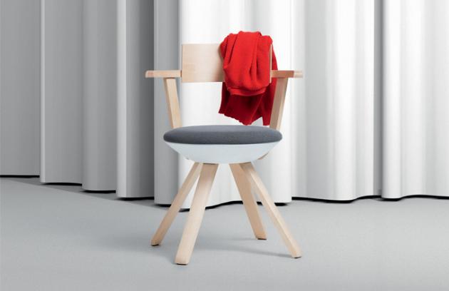 Židle Rival ve spojení finské a německé síly
