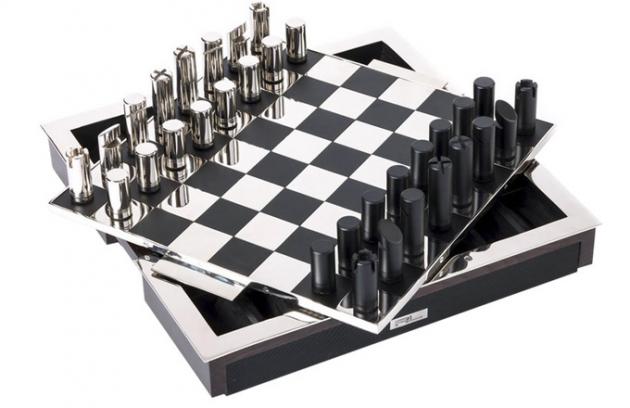 Šachy v luxusním provedení