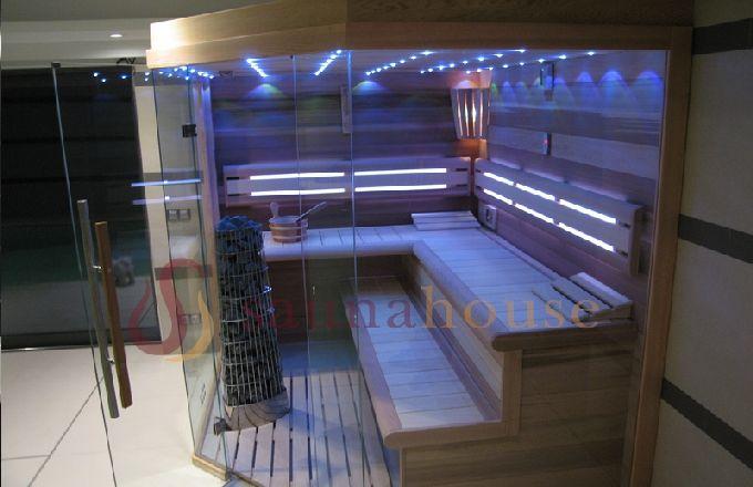 Finská sauna a saunování se těší velké oblibě