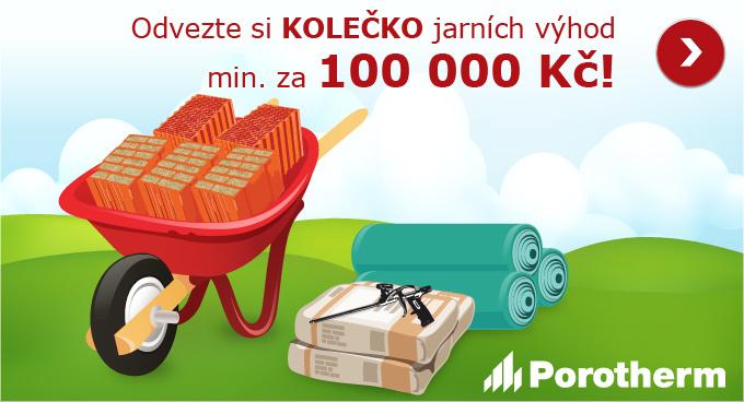 Jarní výhody pro váš dům za 100 000 Kč