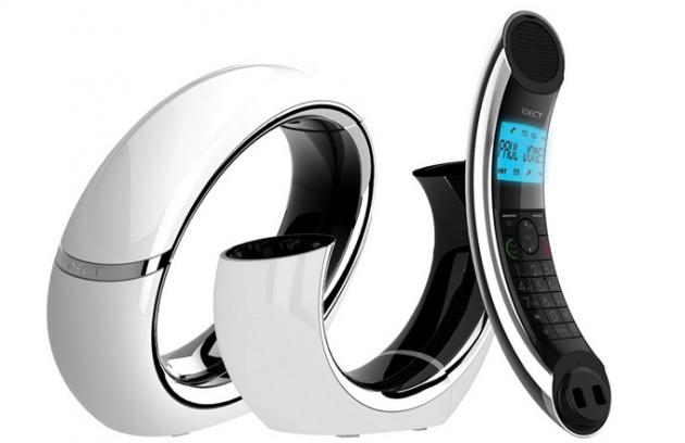 Digitální telefon a záznamník Eclipse Plus