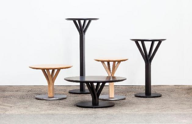 Kolekce stolů Bloom