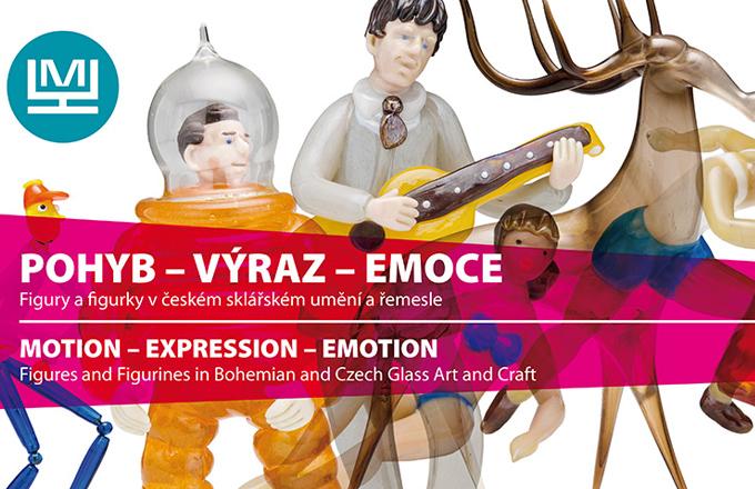 Pozvánka na výstavu skleněných figurek