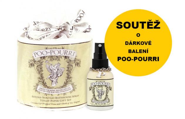 Vyhrajte luxusní dárkový set Poo-Pourri!