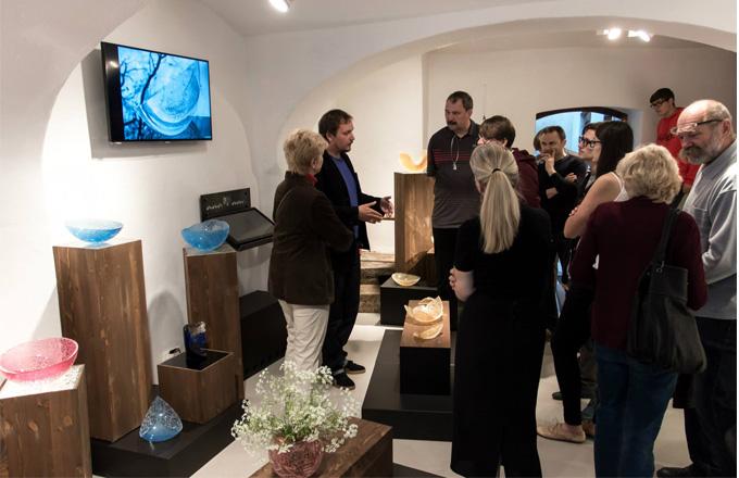 Centrum architektury a designu NEUMANNKA - výstava Jana Falty