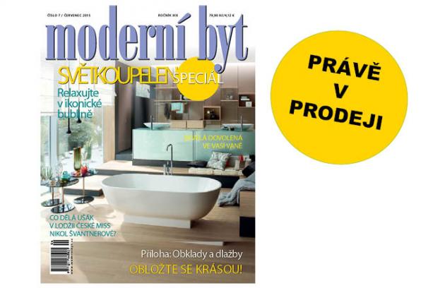 Letní vydání časopisu Moderní byt je na stáncích