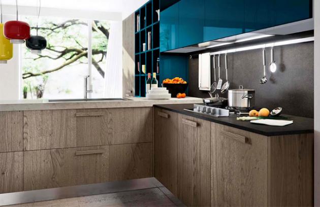 Detail kuchyně Asia/Time