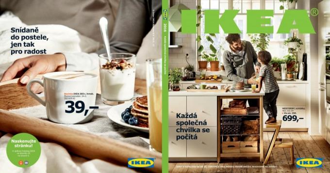 Video ze zákulisí příprav katalogu IKEA 2016