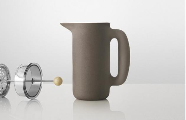 Dánská kávová konvička na litr pohody