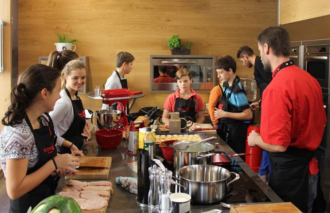 Gourmet academy: unikátní škola vaření