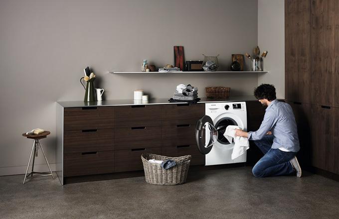 Svěřte své prádlo pračce Samsung s technologií EcoBubble