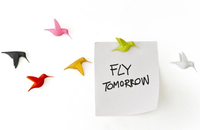 Pořiďte si kolibříka a vzkazy vám neuletí!