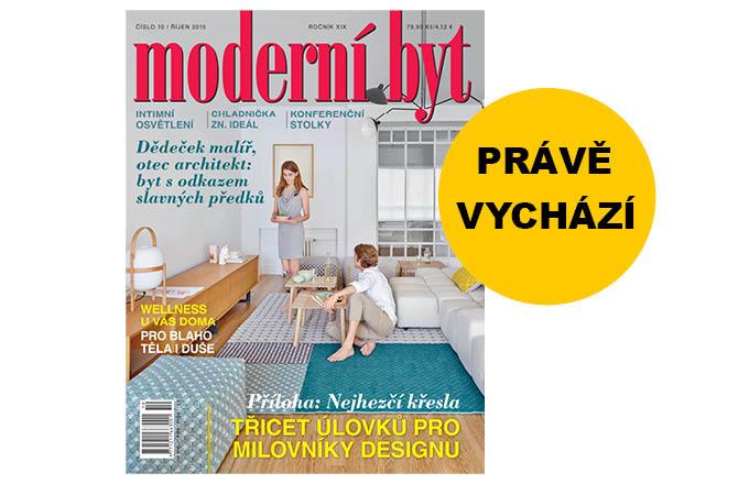Vychází nové číslo časopisu Moderní byt!