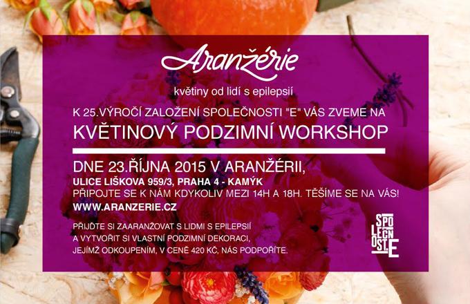 Pozvánka na podzimní květinový workshop