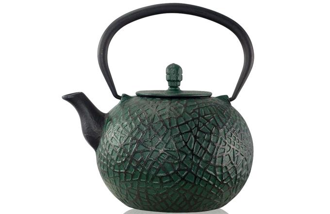 Exotická čajová konvice inspirovaná dýní