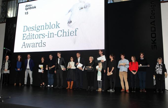 DESIGNBLOK 2015: Vítězové Cen šéfredaktorů