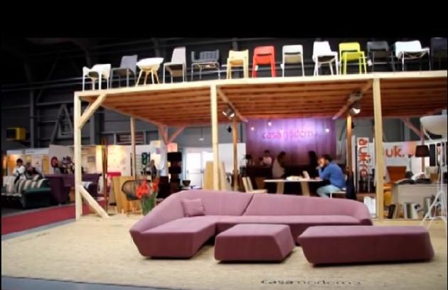 Interiérové studio Casamoderna na veletrhu nábytku, interiérů a designu  FOR INTERIOR 2015 (PVA EXPO PRAHA).