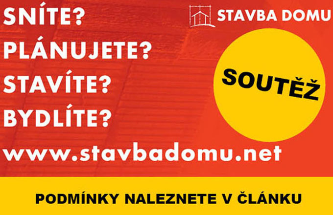 SOUTĚŽ: vyhrajte s webem STAVBADOMU.NET!