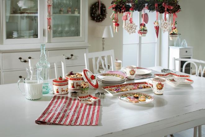 Nádobí z kolekce Winter Bakery