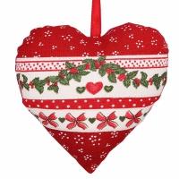 Látková dekorace Christmas Garland