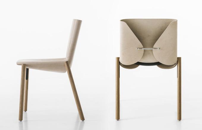 Židle, která umí zestárnout s italskou grácií