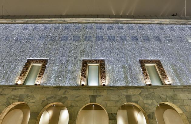 Obchodní dům La Rinascente se oblékl do vánočního
