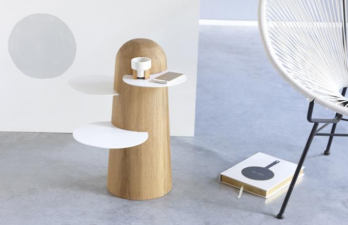 Odkládací stolek jako africký strom Baobab
